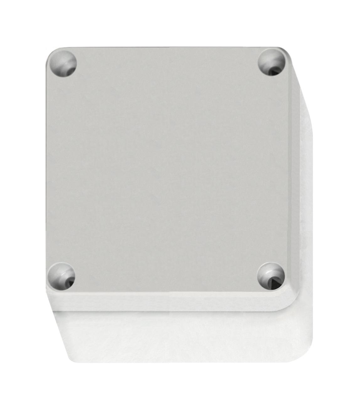 1 Stk ABS Gehäuse mit Deckel grau, 110x110x65mm, RAL7035 IG707001--