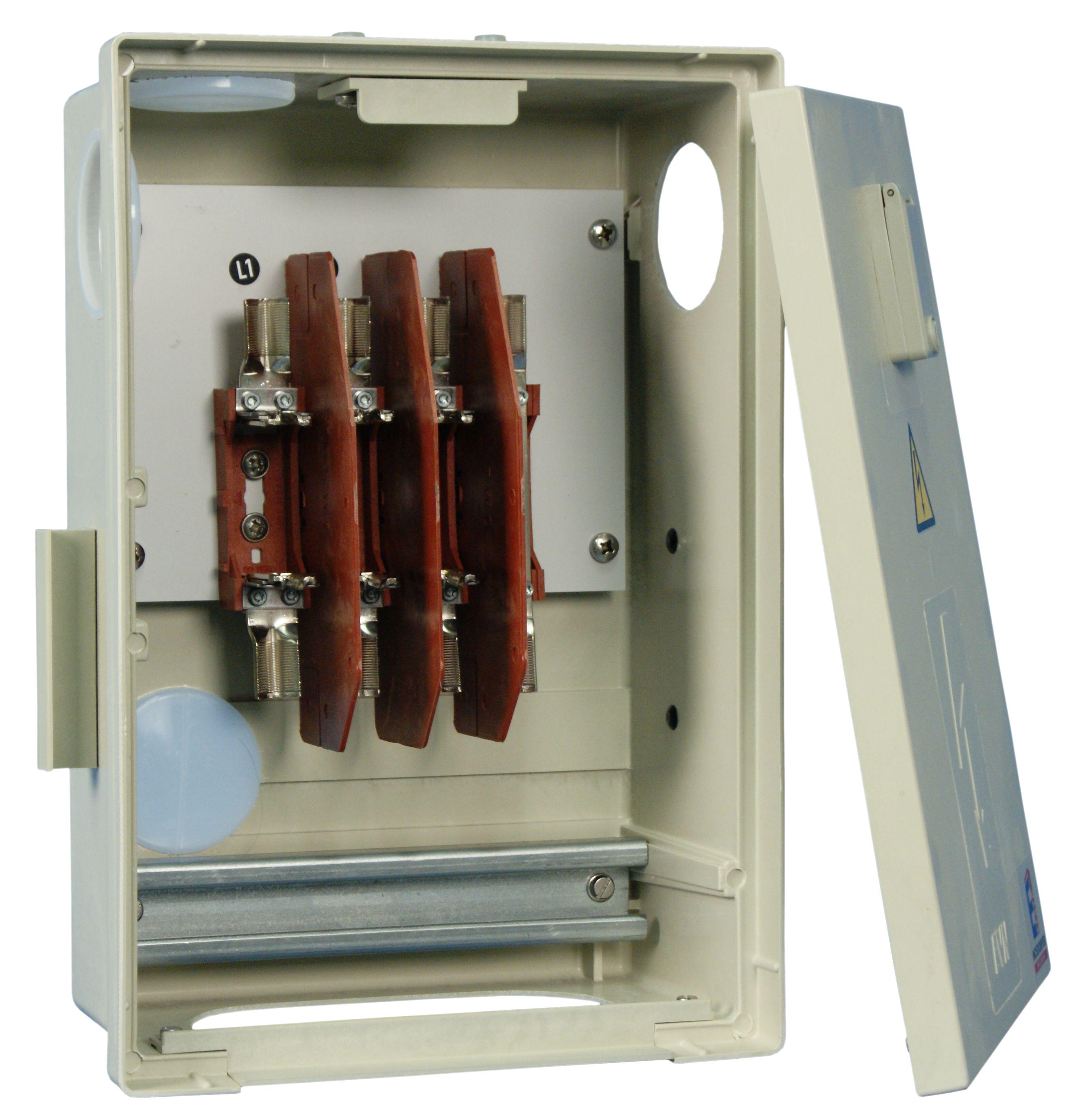 1 Stk Hausanschlussverteiler KÜK mit 3 NH-Unterteilen IG714103--