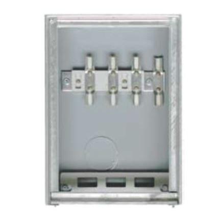 1 Stk Kabelüberführungskasten Unterputz mit Vorzählerklemmblock IG714200--