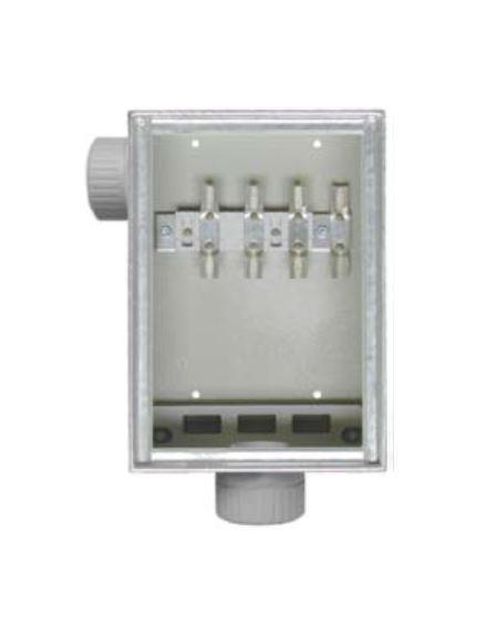 1 Stk Kabelüberführungskasten AP Schlauchverschr. Set 50 u.63 IG714202--
