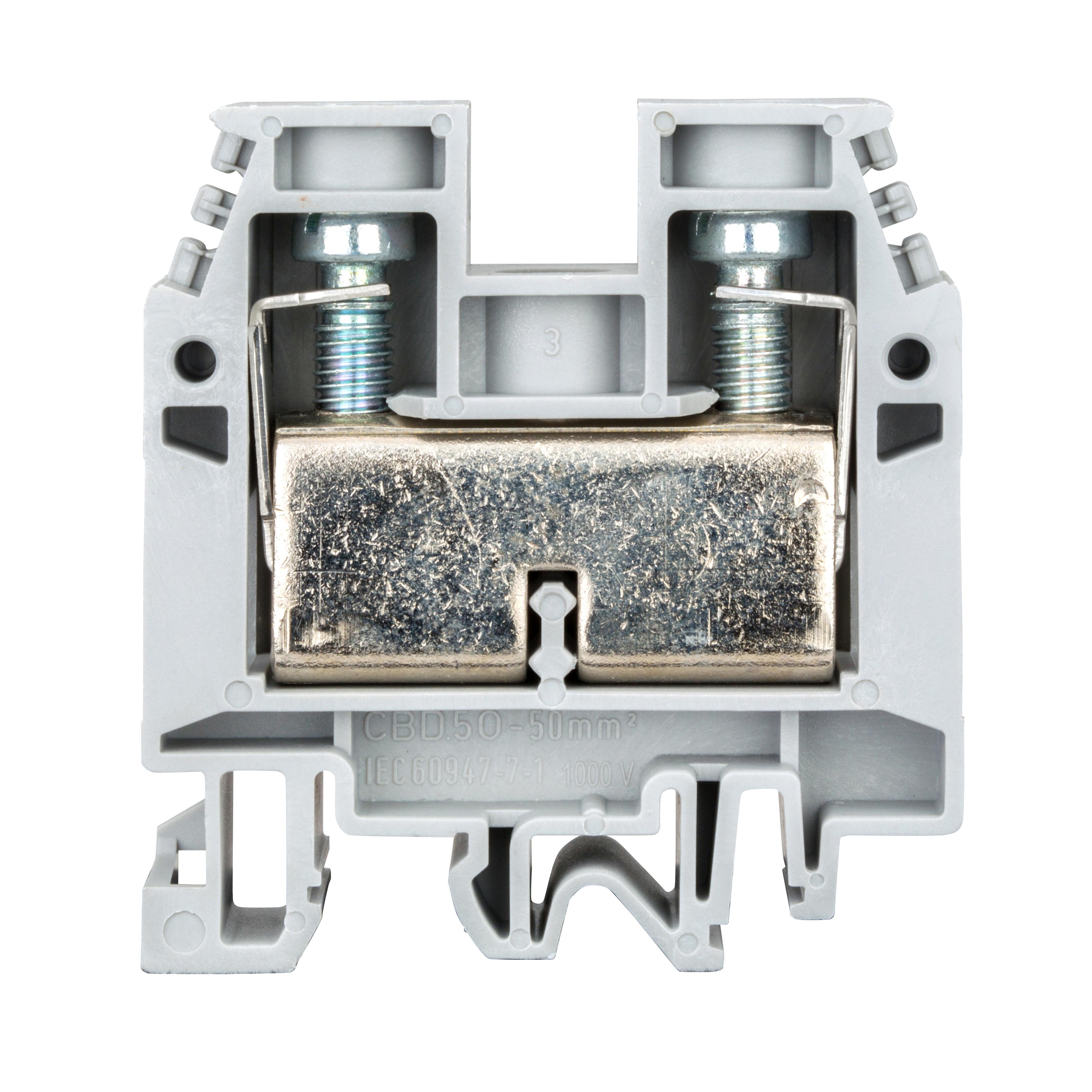 1 Stk Reihenklemme CBD.50 grau, 50mm² IK100050-A