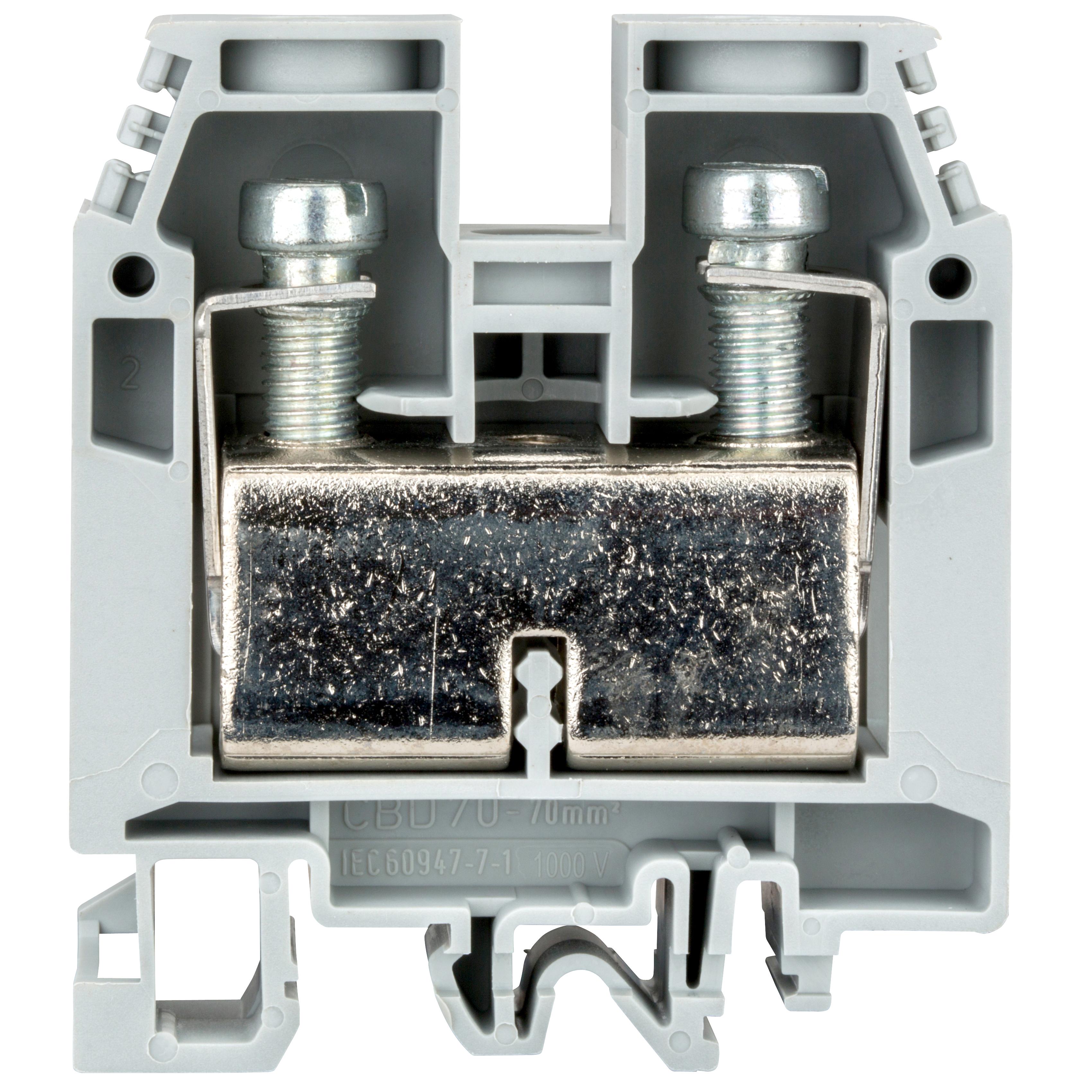1 Stk Reihenklemme CBD.70 grau, 70mm² IK100070-A