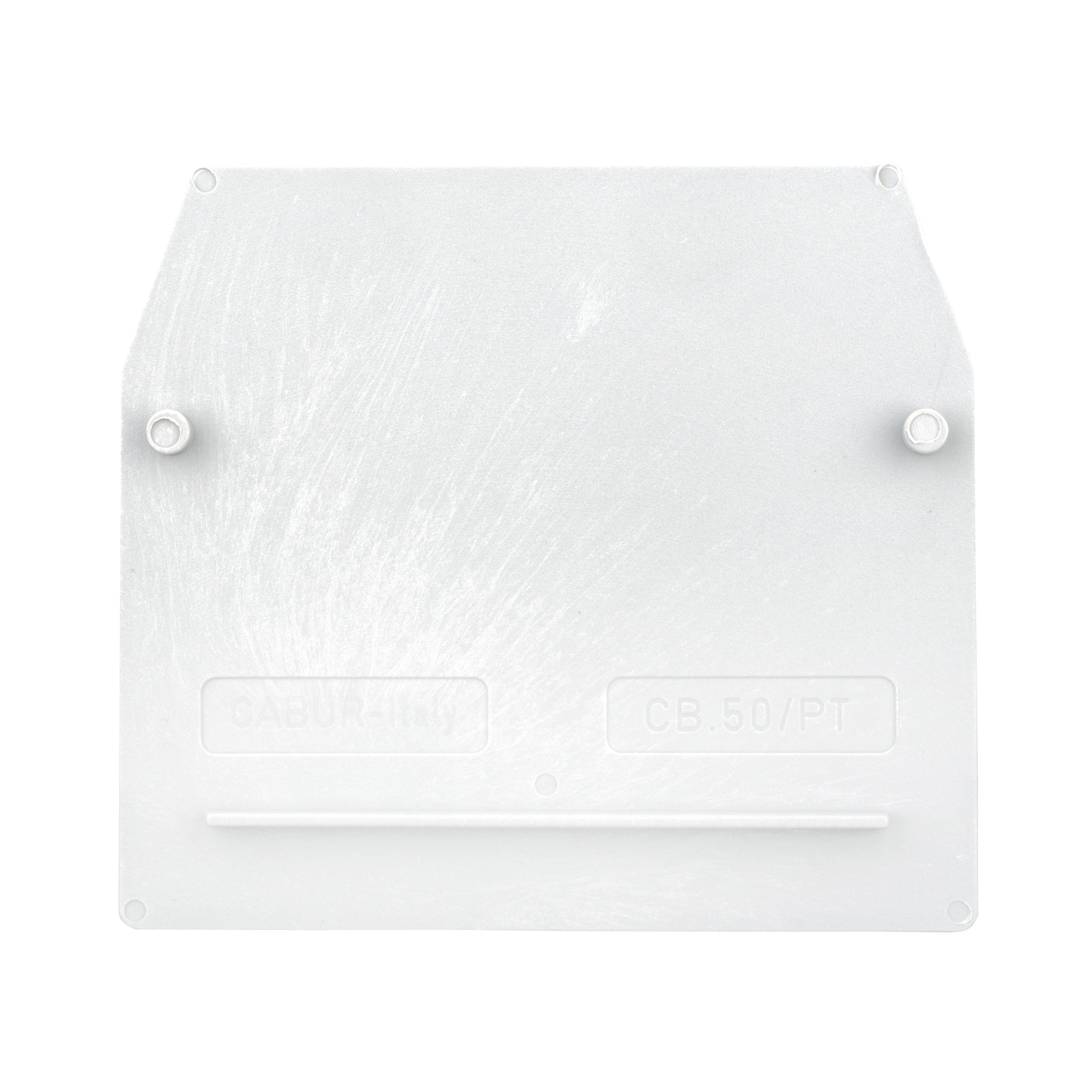 1 Stk Endplatte für Reihenklemme CBD 50mm², grau IK100250-A