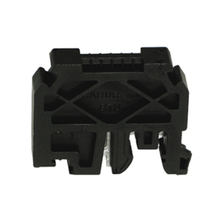 1 Stk Endhalter für DIN-Schienen G32 und TH35, schnappbar IK123001--