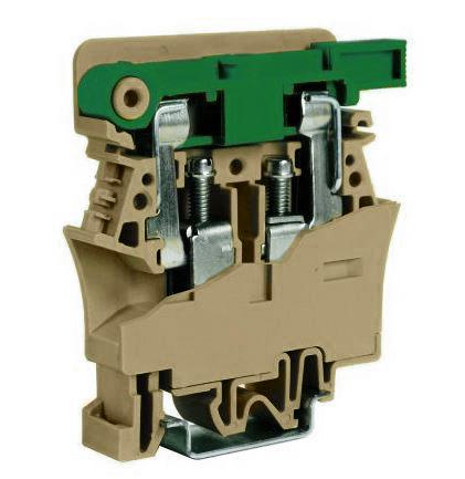 1 Stk Sicherungsklemme 10mm², Type FPC.10 beige IK141010--