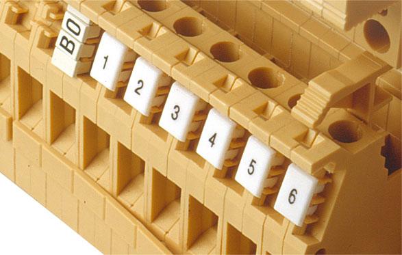 1 VE Kennzeichnungsschildchen 1-10 (je 10mal) IK190510--