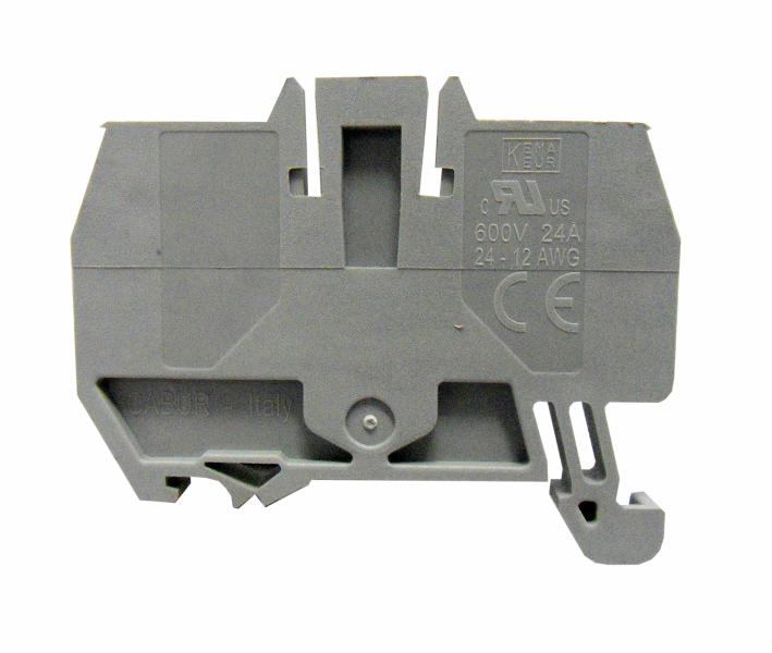 1 Stk Endplatte für Federkraftklemme HMM 2,5mm², grau IK200202-C