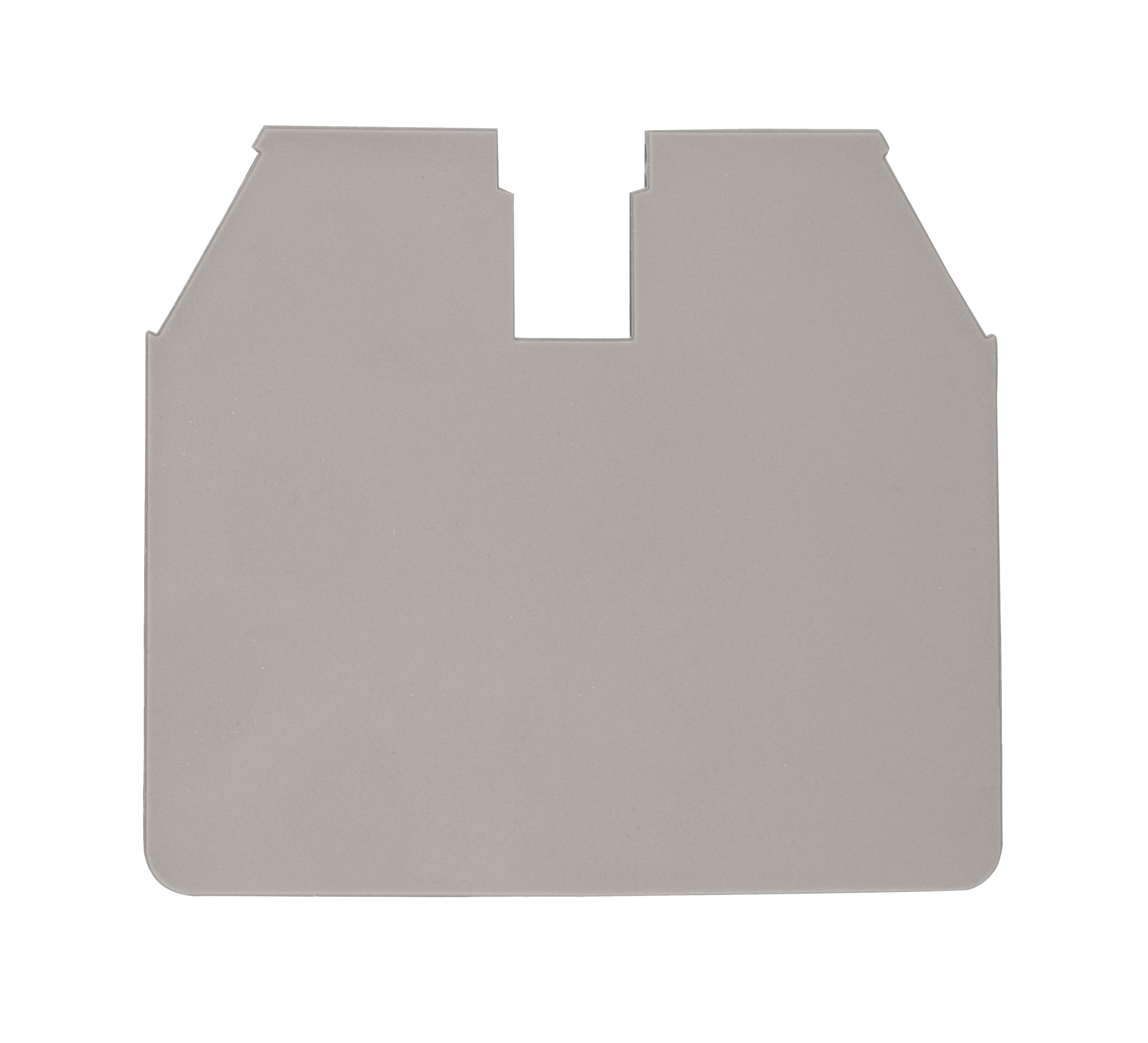 1 Stk Endplatte für Schraubklemme AVK 16 RD grau IK600216-A