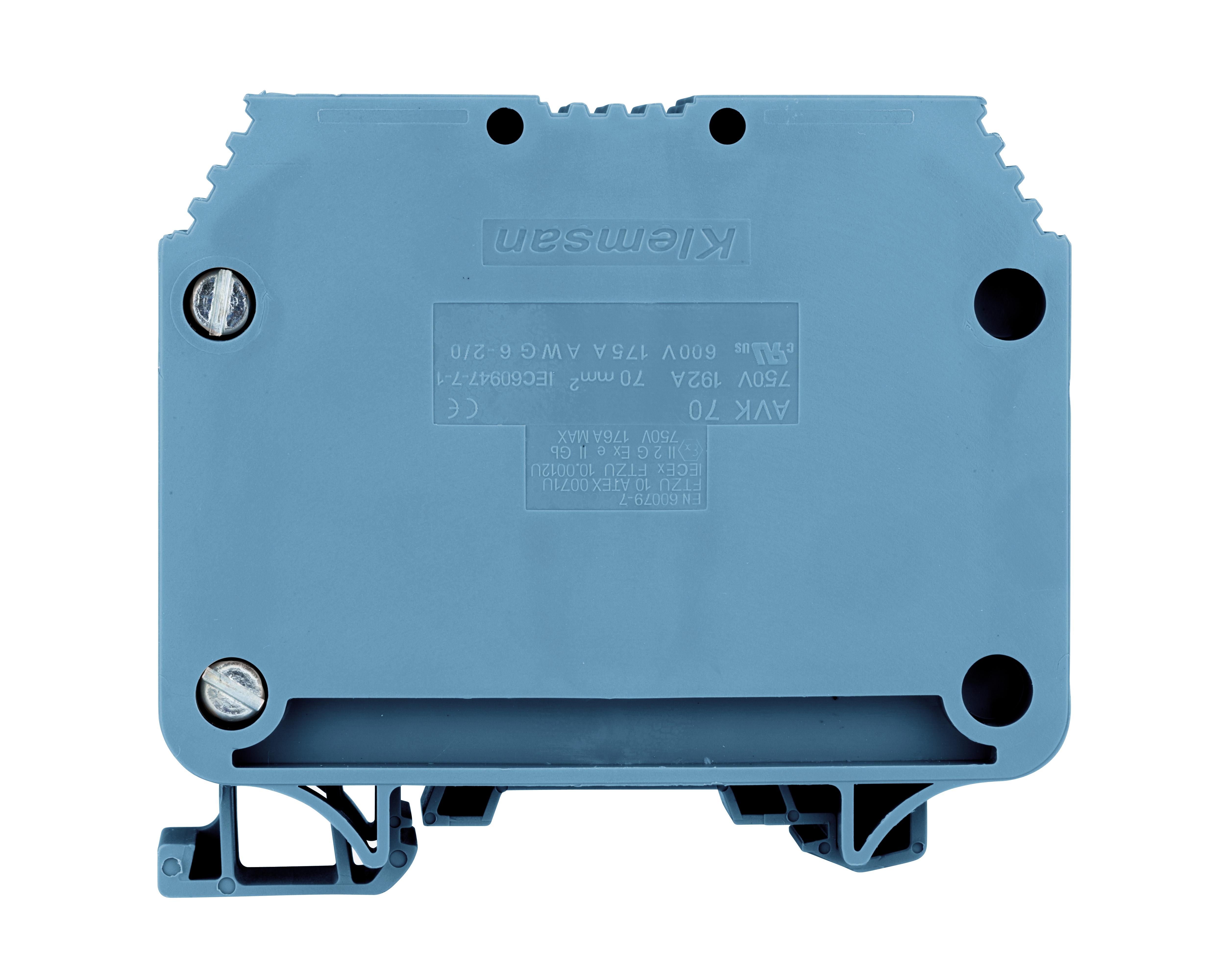1 Stk Hochstromklemme 70mm², Type AVK 70 blau IK601070--