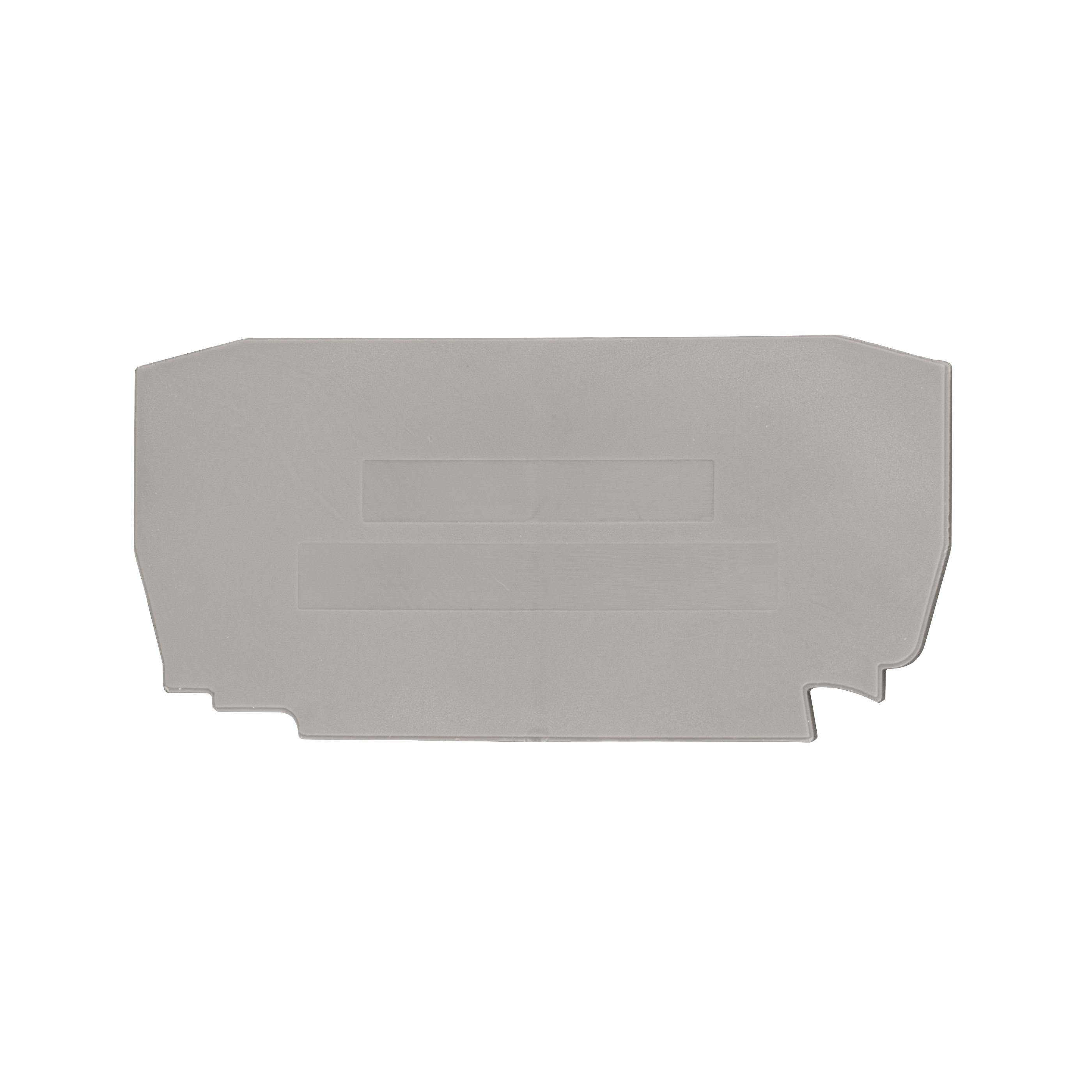1 Stk Endplatte für Federkraftklemme YBK 2.5 grau IK610202--