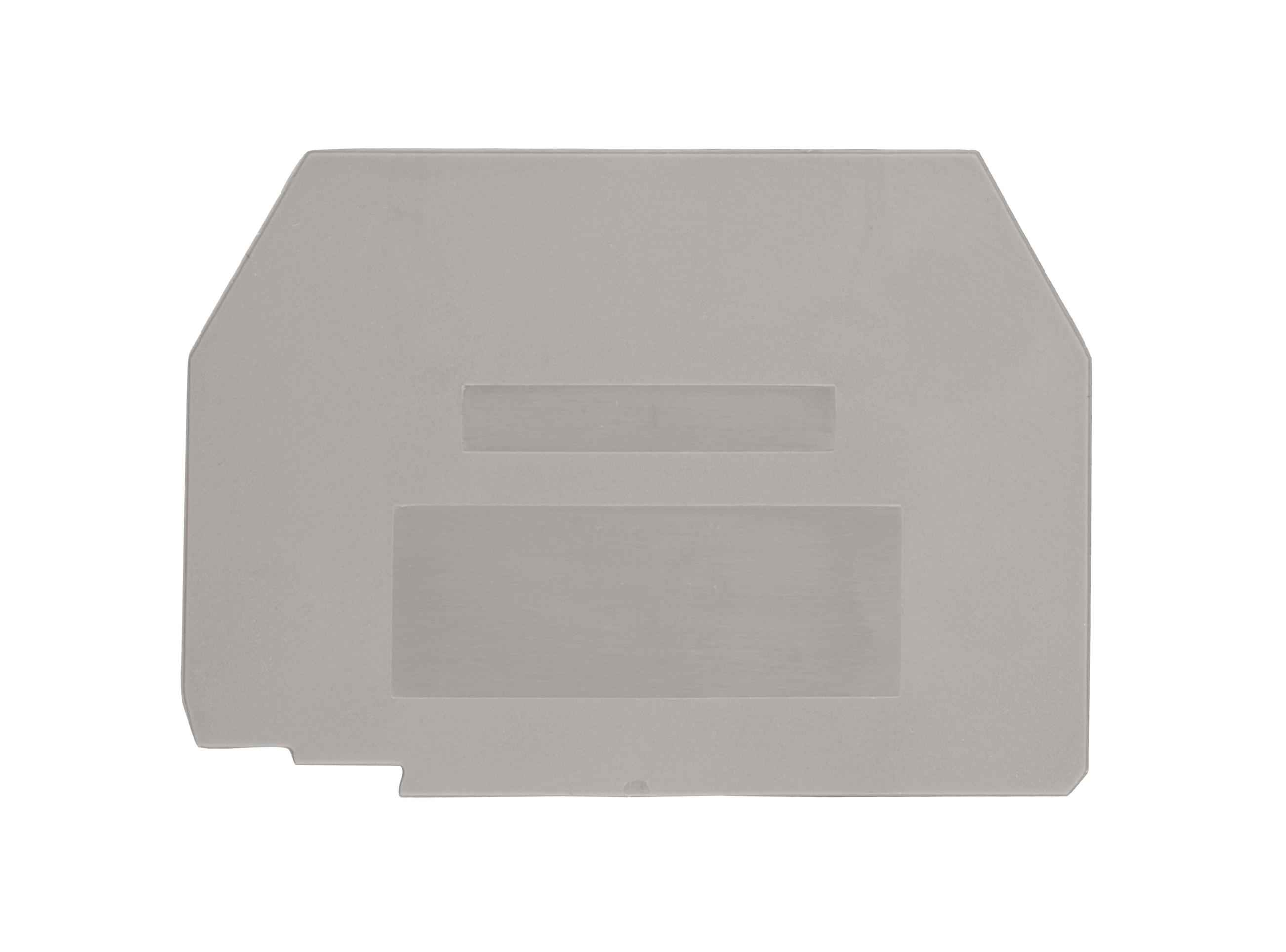 1 Stk Endplatte für Trennklemme ASK 3 A grau IK631202--