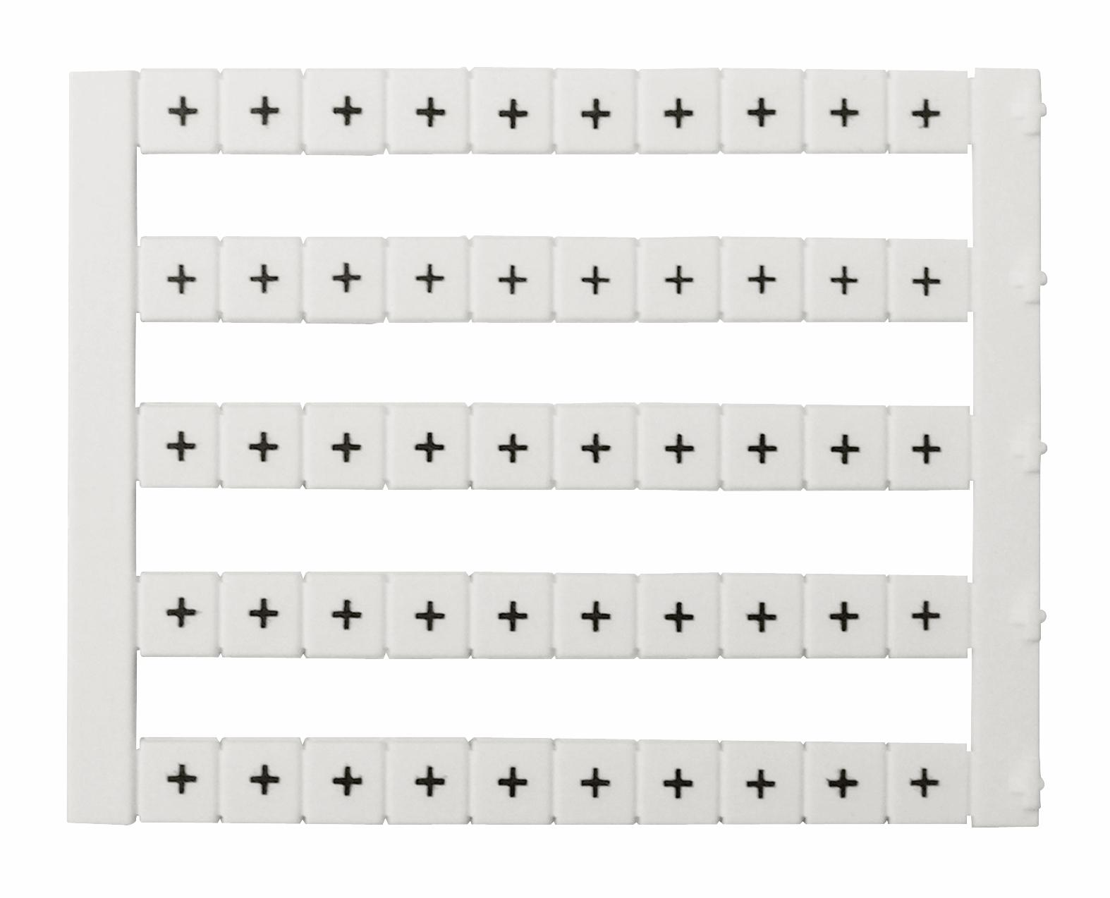 1 Stk Markierungsetiketten DY 5 bedruckt mit + (50-mal) IK697085--
