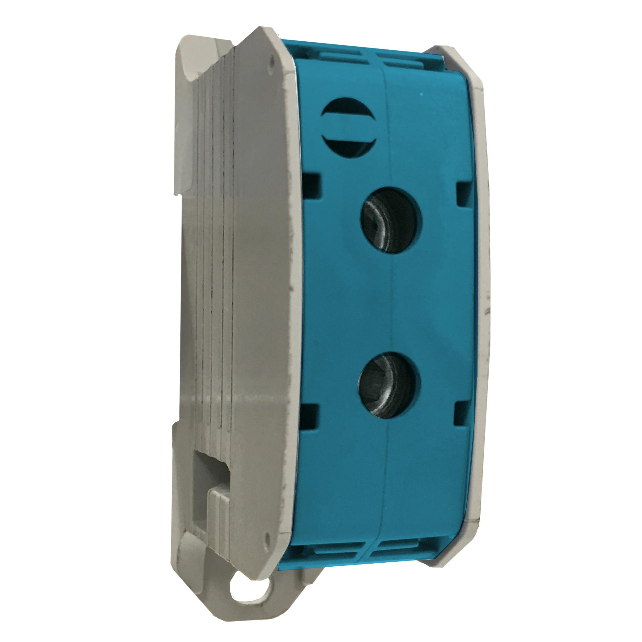 1 Stk Aluminium /Kupfer Klemme, 1-polig, 50mm² blau IKA21320--