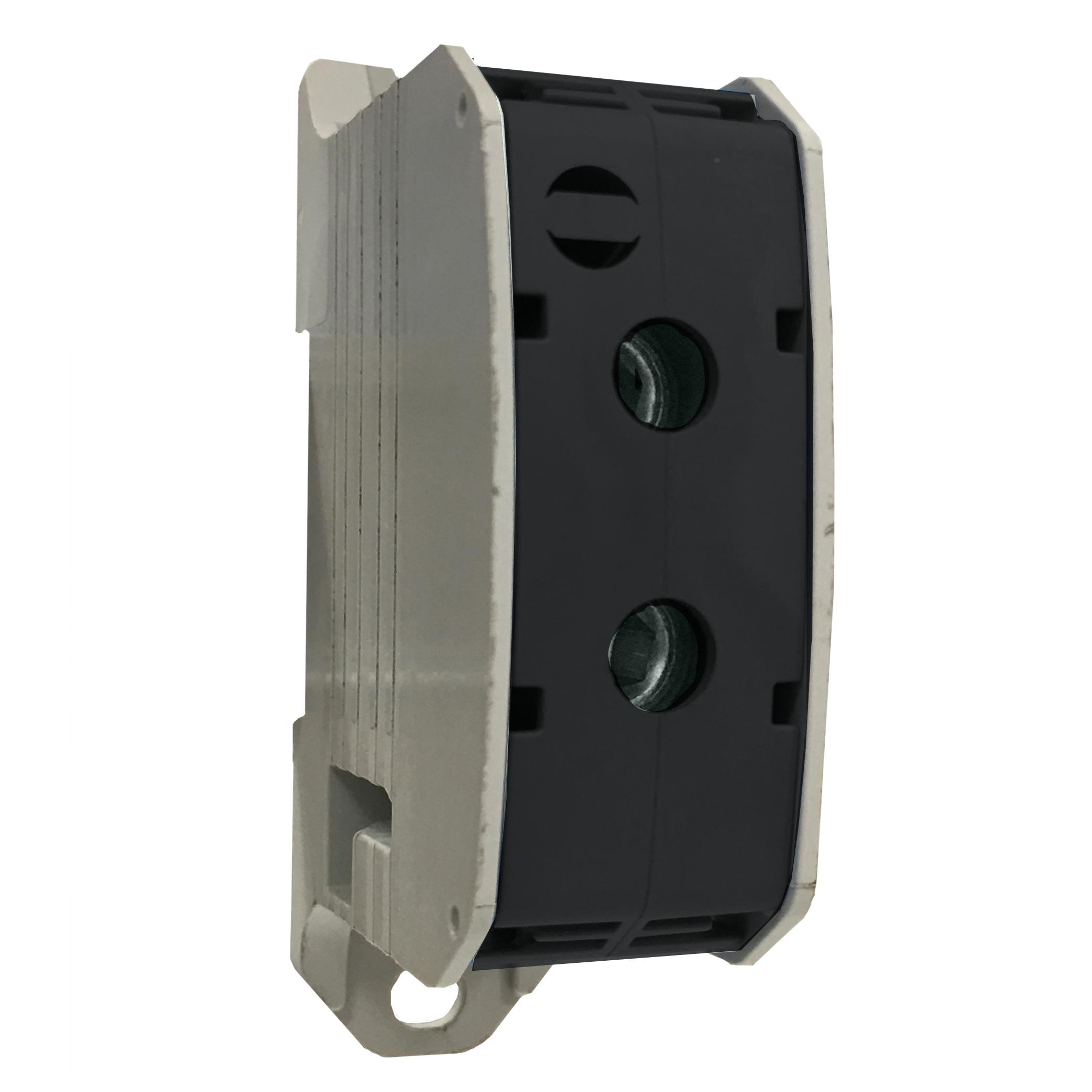 1 Stk Aluminium /Kupfer Klemme, 1-polig, 50mm² schwarz IKA21350--