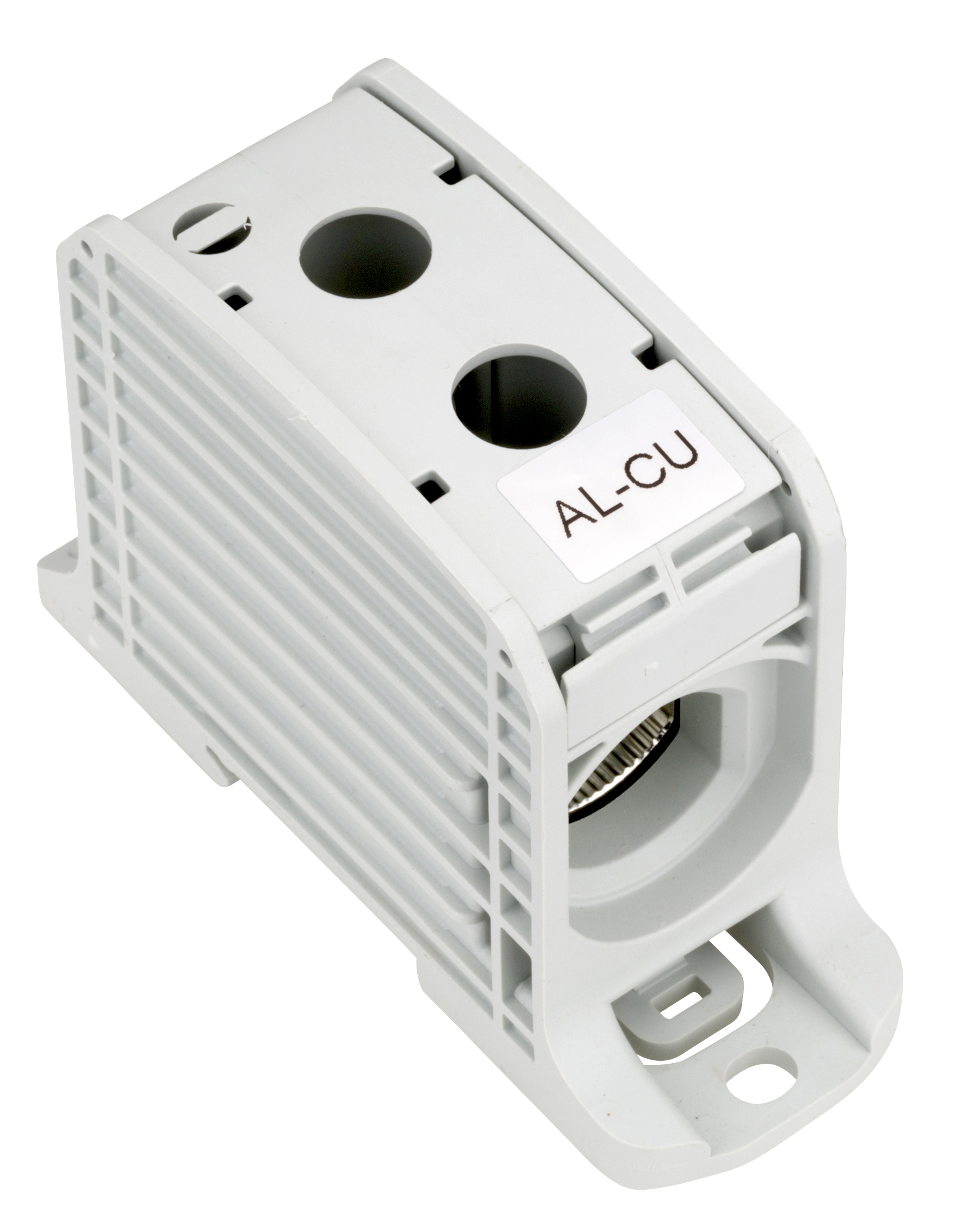 1 Stk Aluminium /Kupfer Klemme, 1-polig, 185mm² grau IKA21510--