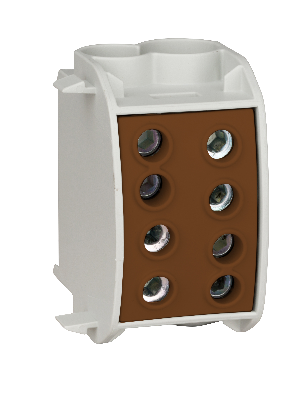 1 Stk Al-Hauptleitungsabzweigklemme 70mm² - 1p, isoliert, braun IKA26340--