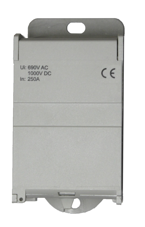 1 Stk Anschlussblock, 1-polig, 250A, zu 1x120mm², ab 8x25mm² IKB01121--