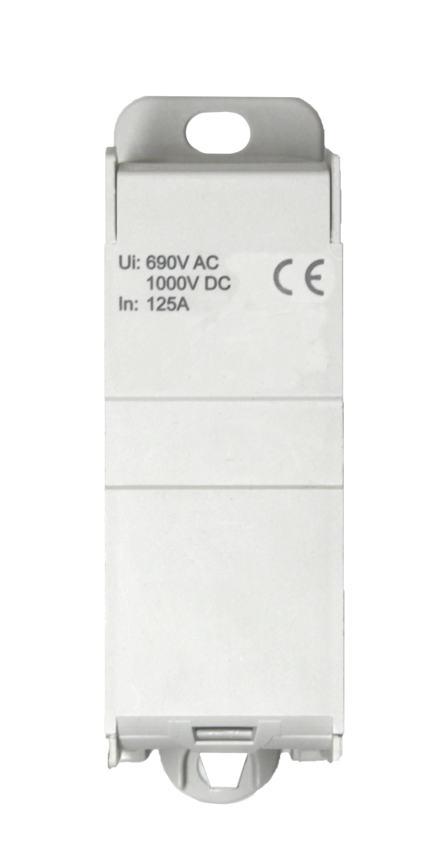 1 Stk Anschlussblock, 1-polig, 125A, zu 1x35mm², ab 6x16mm² IKB01135--