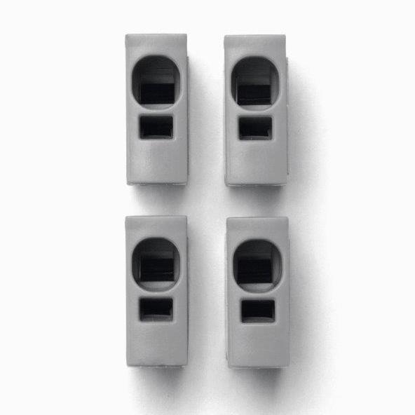 1 Stk Toolless connection Plug grau IKBC0001--