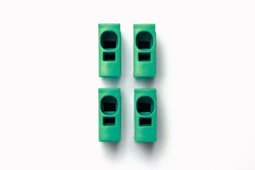 1 Stk Toolless connection - Steckmodul grün IKBC0003--