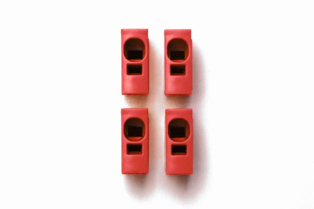 1 Stk Toolless connection - Steckmodul rot IKBC0004--