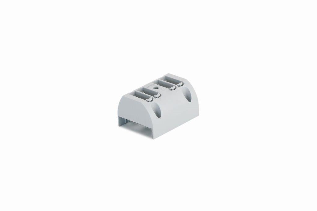 1 Stk Toolless connection - Sockel 4-fach für Cu-Schiene IKBC1040--