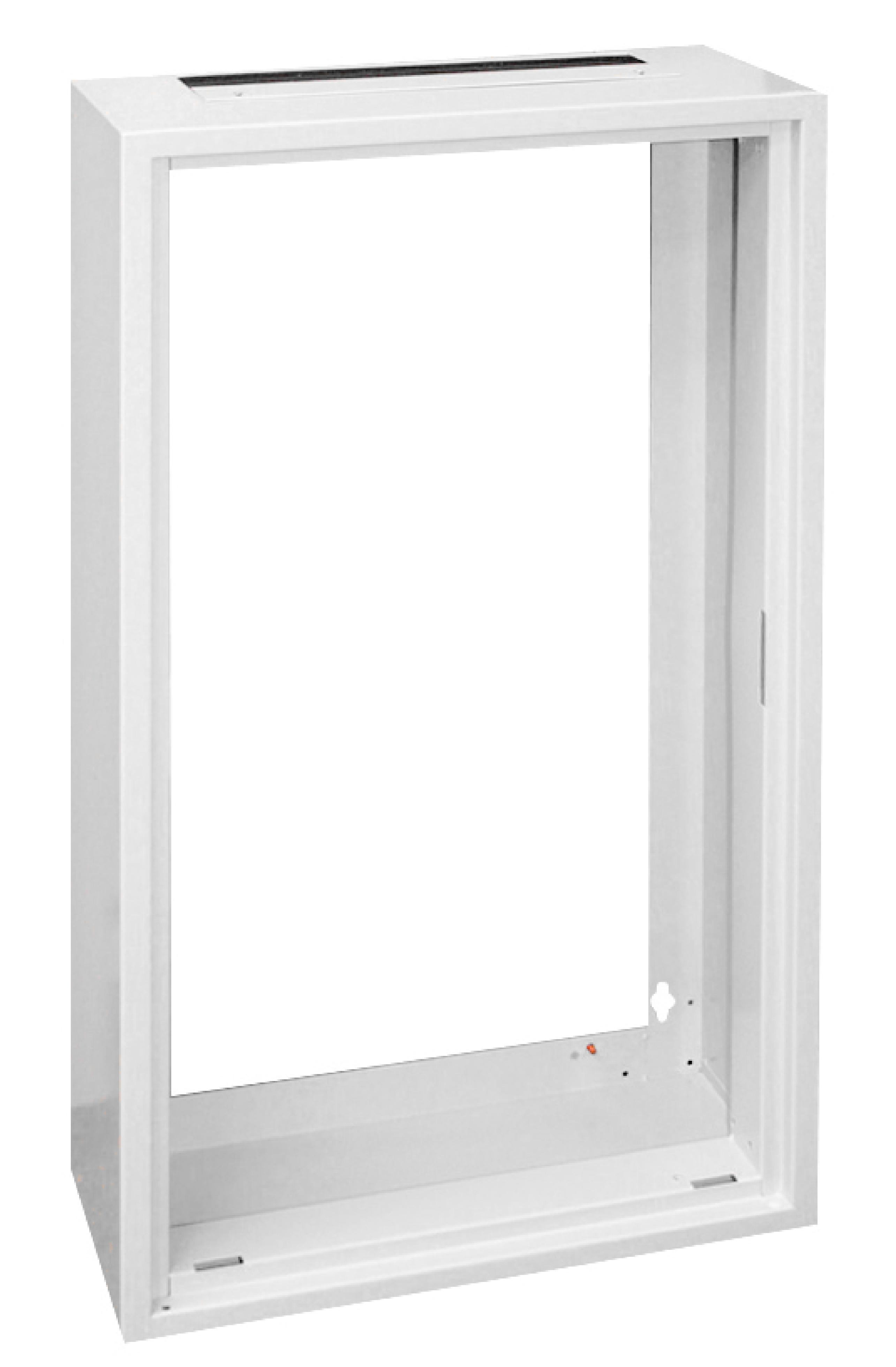 1 Stk AP-Rahmen ohne Türe und Rückwand 2A-42, H2025B590T250mm IL001242-F