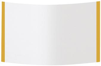 1 Stk Rückwand Kunststoff 1R-12, 322x591x2mm IL042112-F