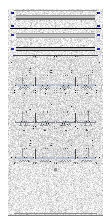 1 Stk Masken-Zählerverteiler 4M-45M/NOE 12ZP, H2130B980T200mm IL122445NS