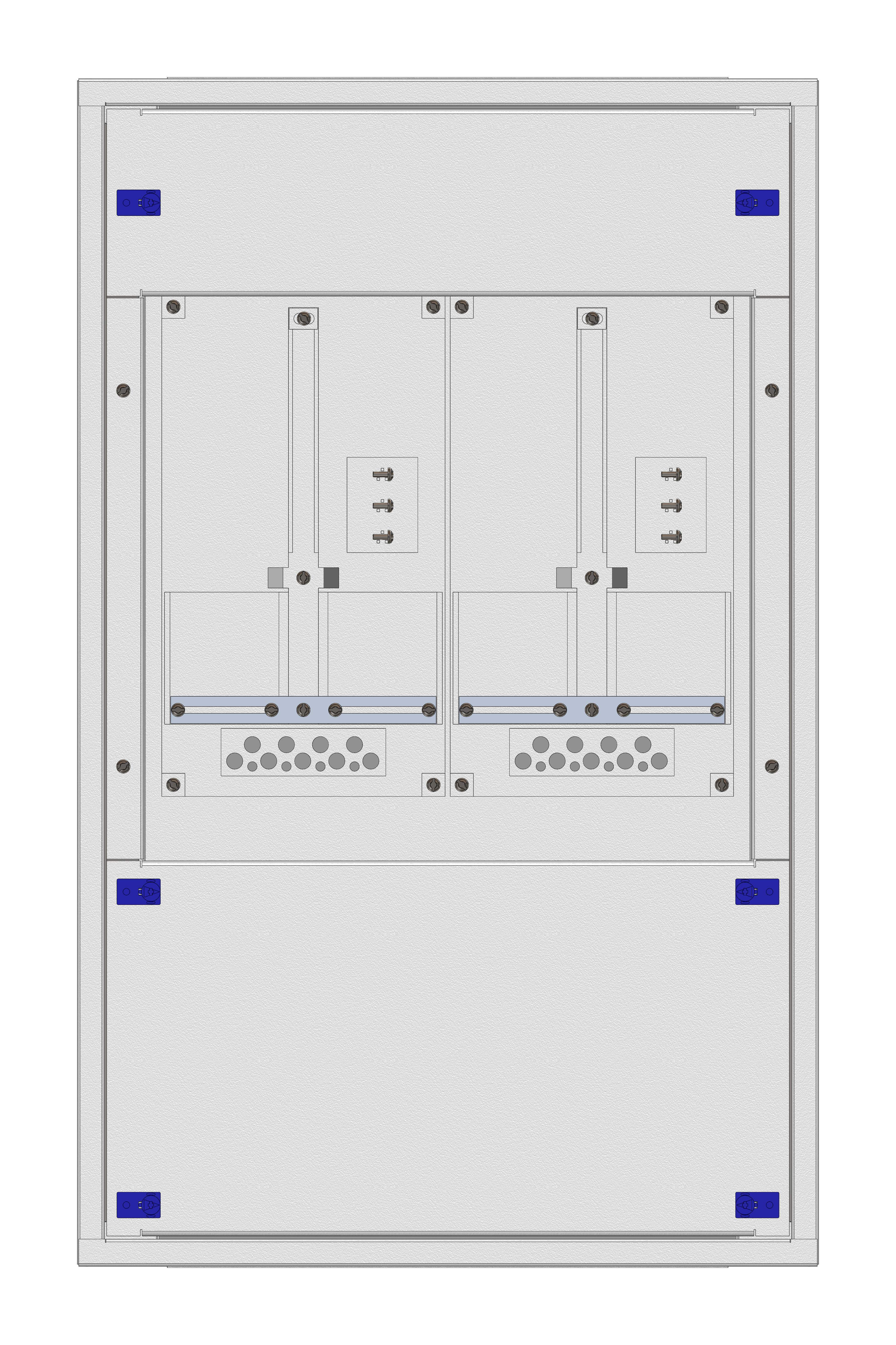 1 Stk Zählerverteiler Einsatz 2-18F, 2 Zählerplätze, Kärnten IL145218--