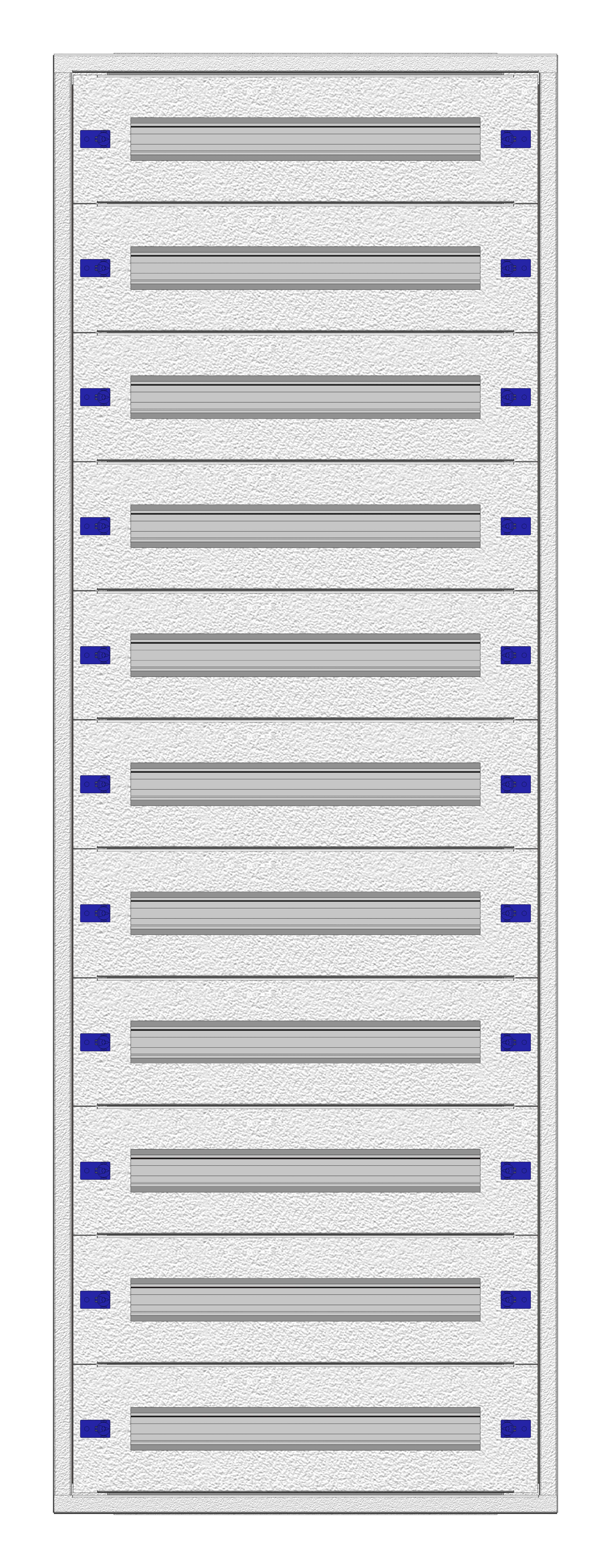 1 Stk Aufputz-Installationsverteiler 2A-33K, H1605B590T250mm IL172233AS