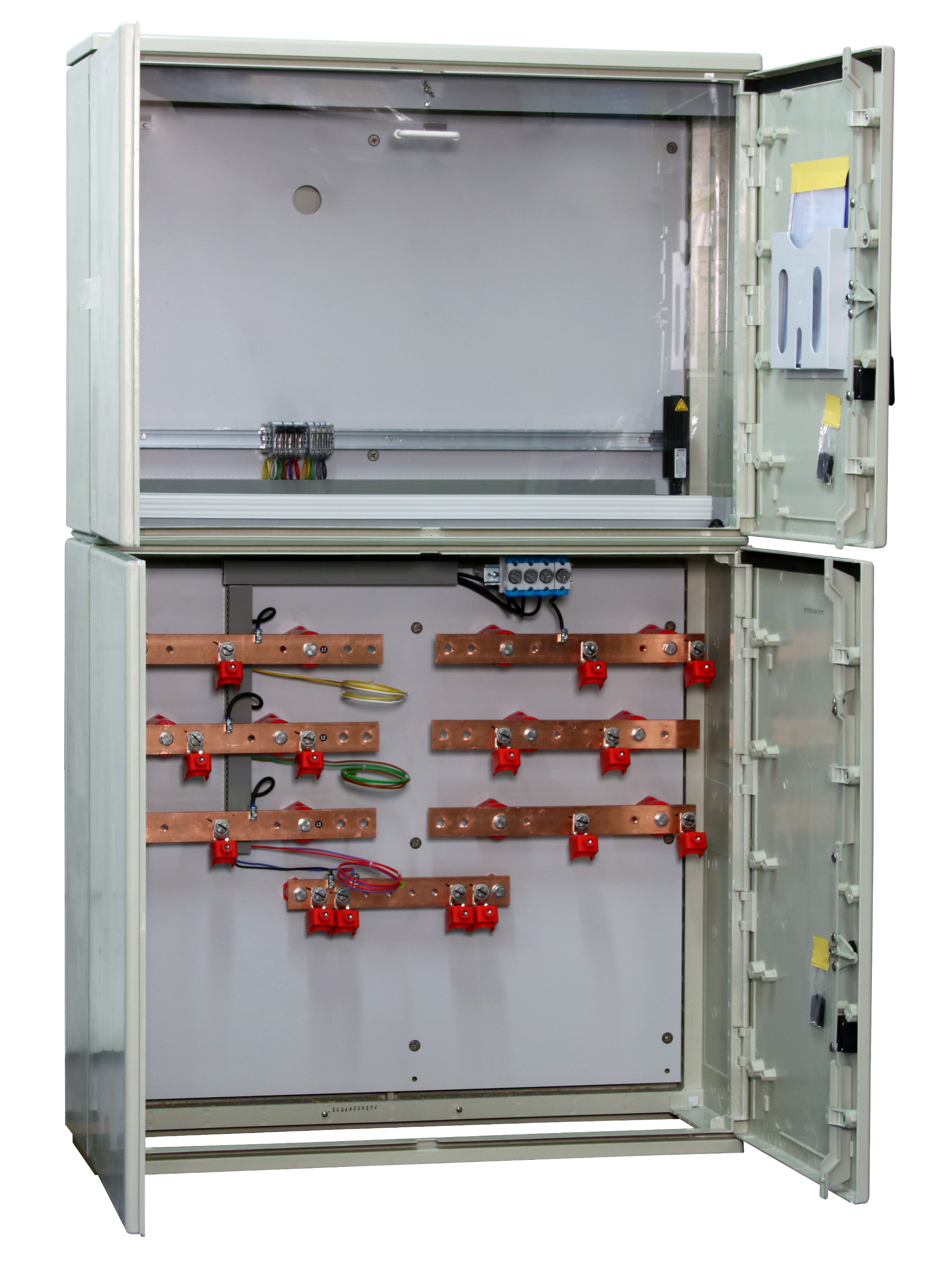 1 Stk Messwandler Netz NÖ 630A Freiluft ohne Sockel, 2 Ein/Abgänge IL190306--