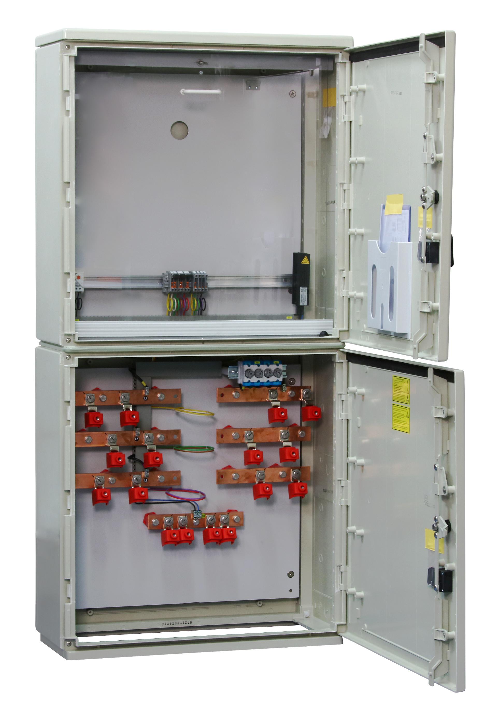 1 Stk Messwandler Netz NÖ 400A Freiluft ohne Sockel, 2 Ein/Abgänge IL190404--