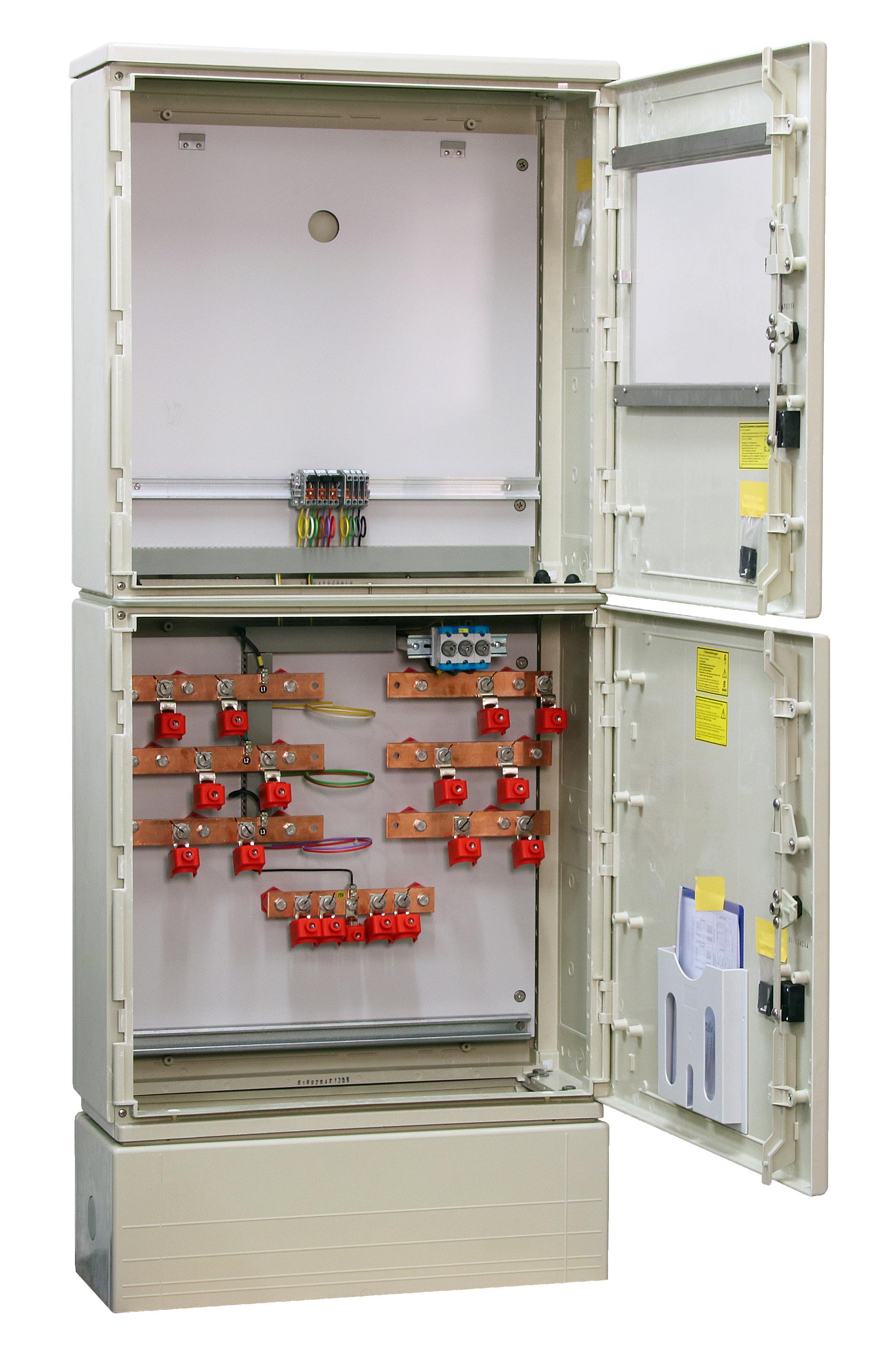 1 Stk Messwandler Netz NÖ 400A Innenraum mit Sockel, 2 Ein/Abgänge IL190414--