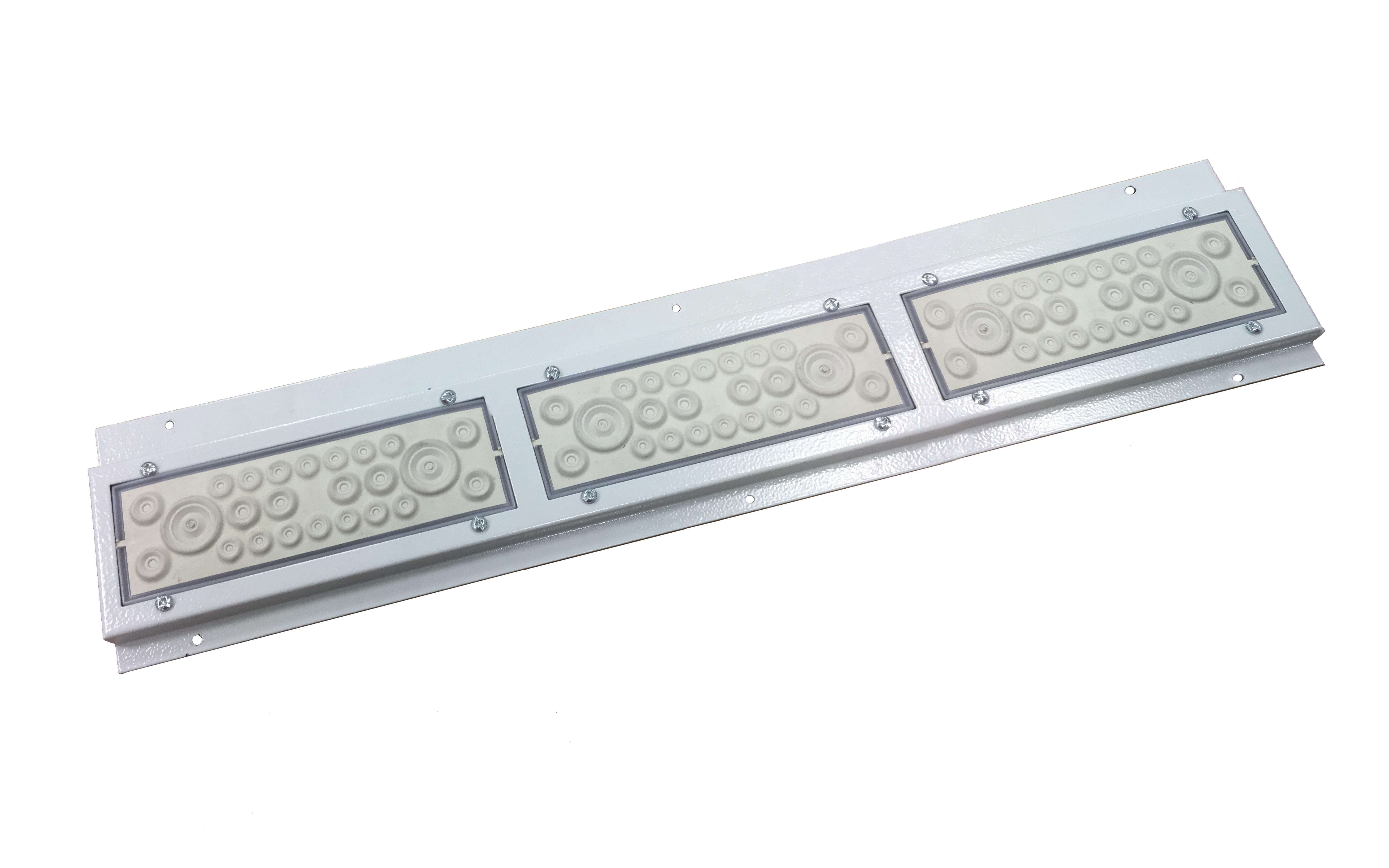1 Stk Durchsteckflansch IP20C,IL006/009/036 Sonder, 636x130x15mm IL900103--