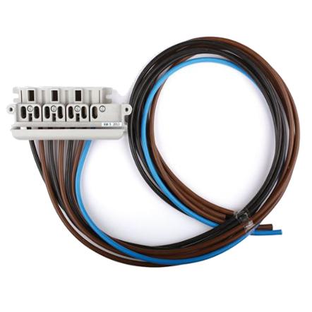 1 Stk 4-polige Zähleranschlussklemme mit 1m Kabel 10mm² OÖ IL900242--