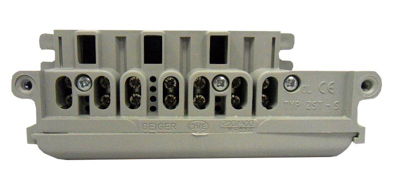 1 Stk 4-polige Zähleranschlussklemme OÖ IL900246--