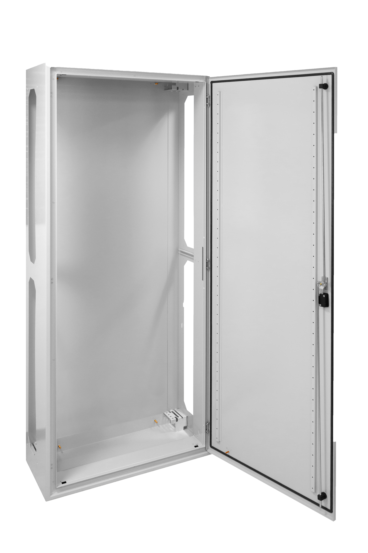 1 Stk AP-Rahmen + Tür 1A-42 T=400mm, Rückwand+Schwenkhebel, IP54 IL951142--