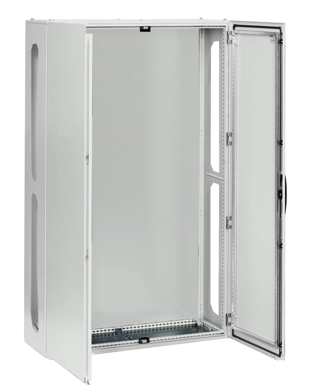 1 Stk AnreihAP-Rahmen+Tür 4A-39 T=400mm,Rückwand+Schwenkhebel,IP54 IL951439--