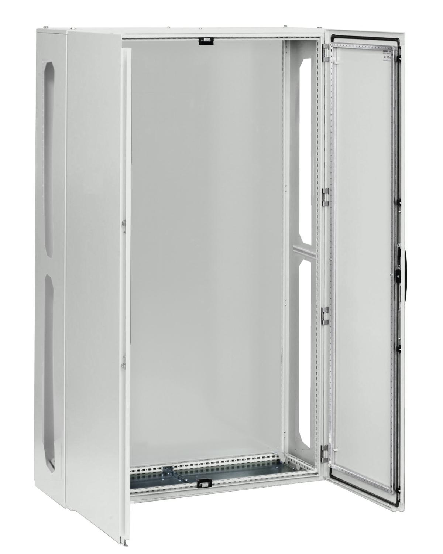 1 Stk AnreihAP-Rahmen+Tür 4A-42 T=400mm,Rückwand+Schwenkhebel,IP54 IL951442--