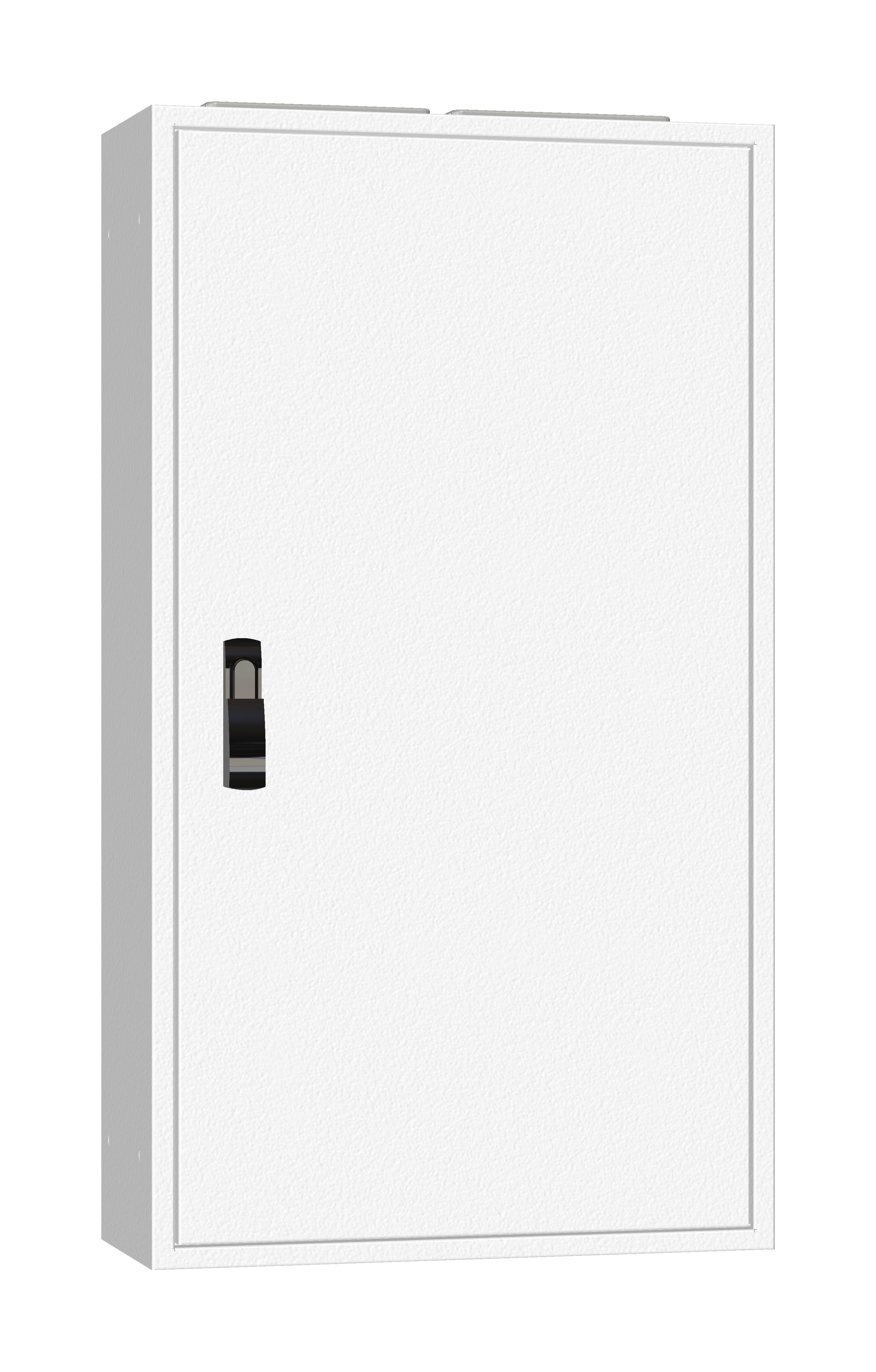 1 Stk AP-Rahmen + Tür 2A-21 T=250mm, Rückwand + Schwenkhebel, IP54 IL952221--