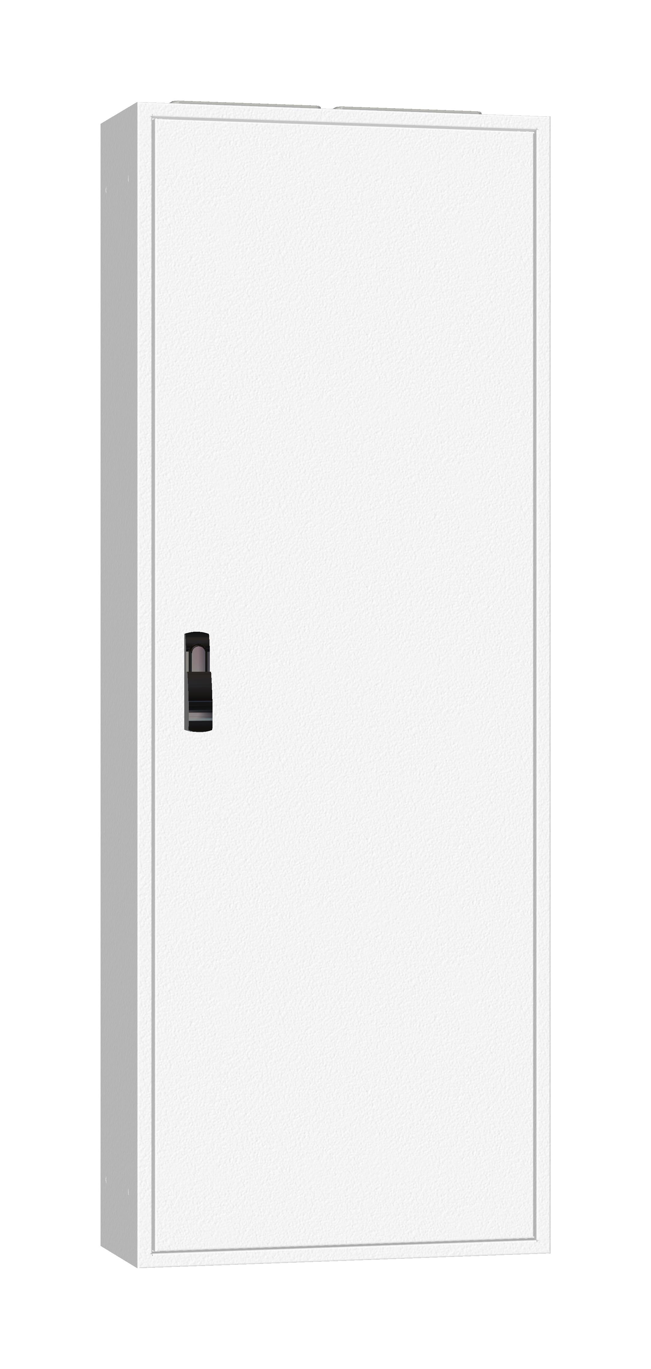 1 Stk AP-Rahmen + Tür 2A-33 T=250mm, Rückwand + Schwenkhebel, IP54 IL952233--