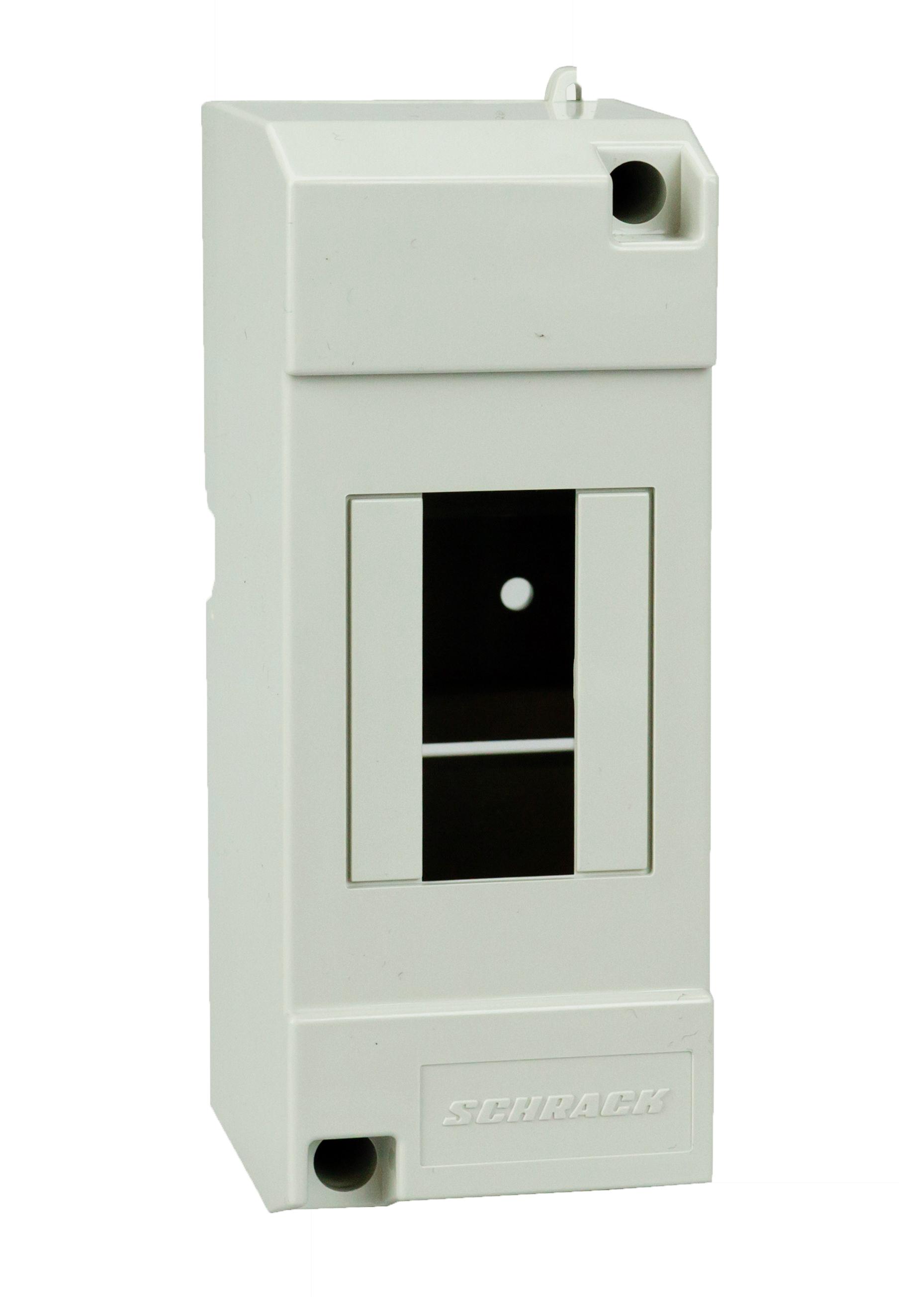 1 Stk Aufputz-Haubenverteiler, 2TE, 1-reihig ohne Tür, IP40 IM009010--