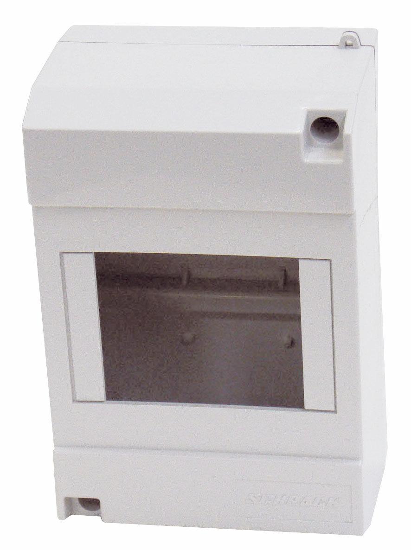 1 Stk Aufputz-Haubenverteiler, 4TE, 1-reihig ohne Tür, IP40 IM009011--