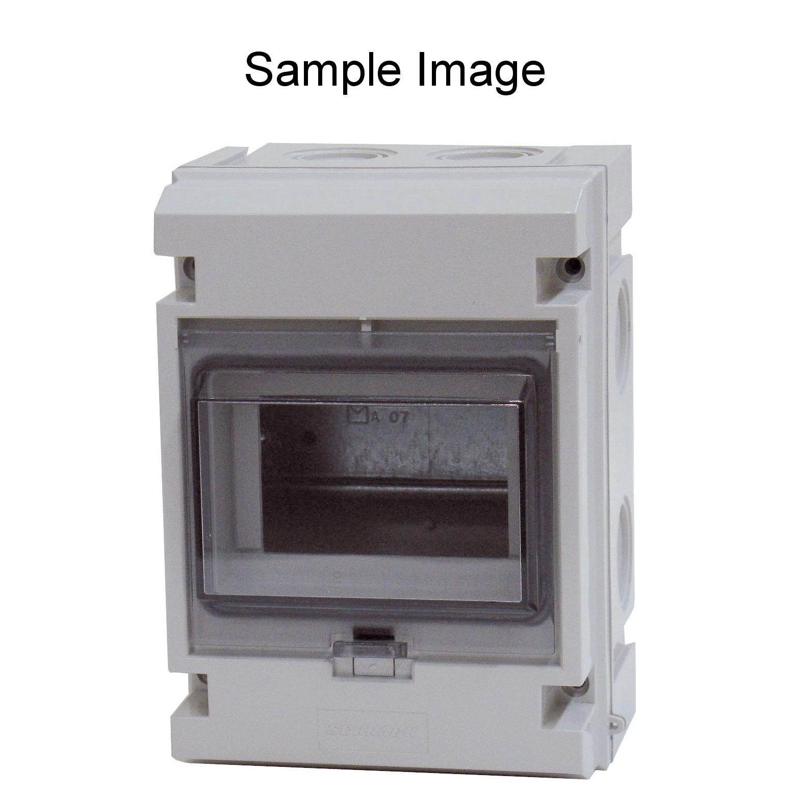 1 Stk Automatengehäuse, 12TE, 1-reihig mit Klappdeckel, IP55 IM009022--