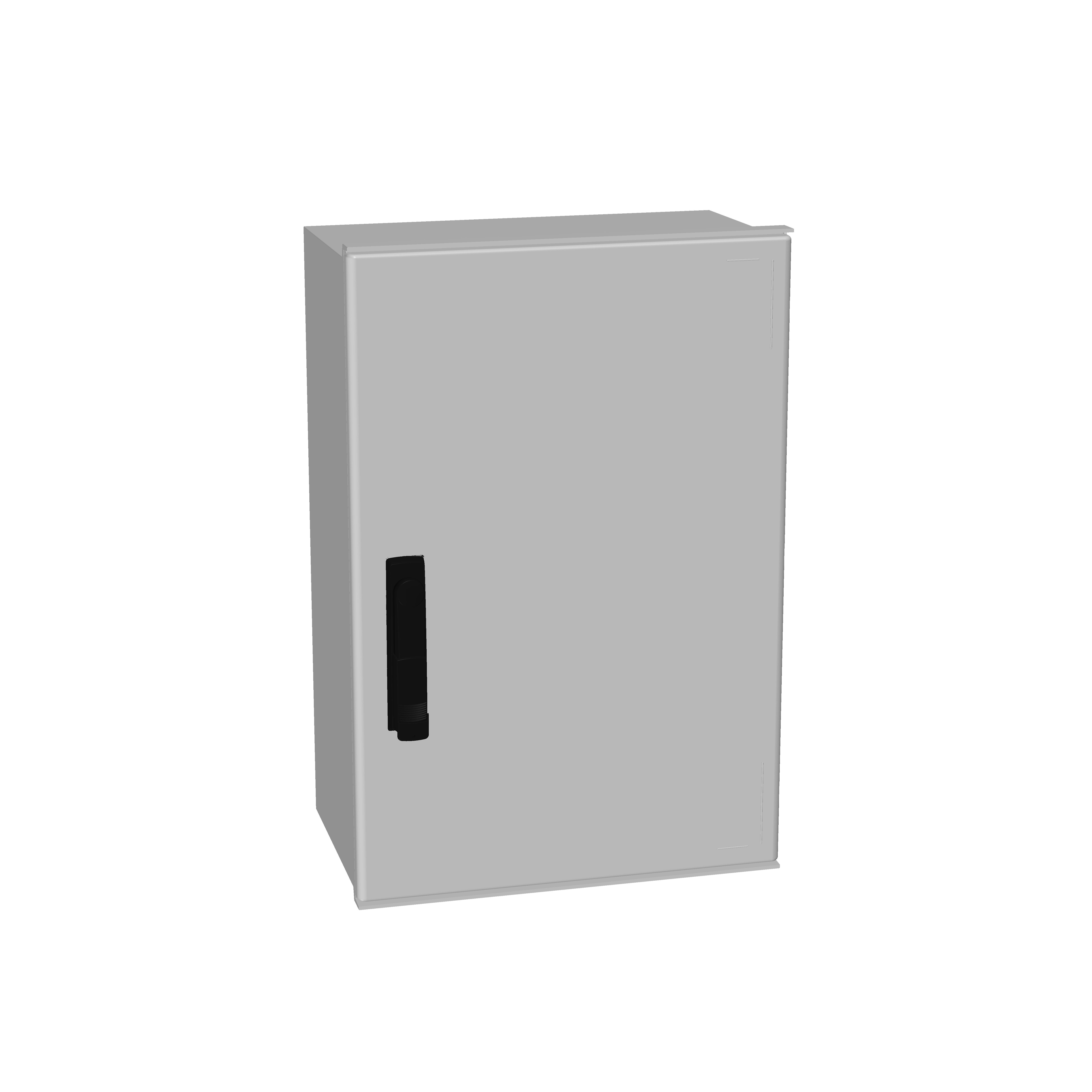 1 Stk Minipol-Wandschrank 3-Punkt Stangenverschl. 600x400x230mm IM088864--