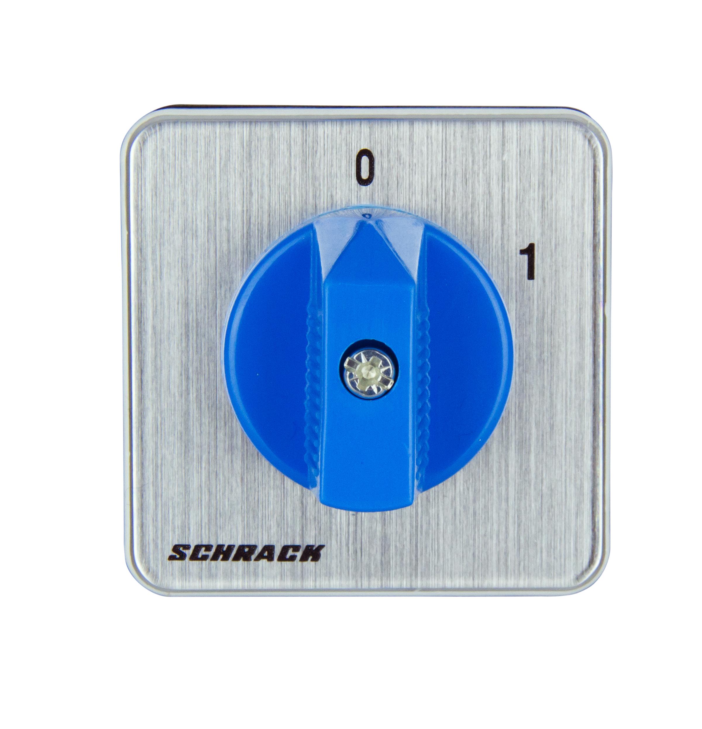 1 Stk Ausschalter 3-polig, 20A, 5,5kW, Einbau IN005320--