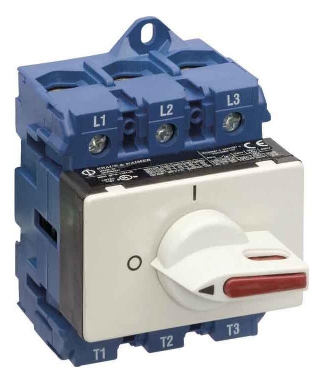 1 Stk Lasttrennschalter 0-1, Verteilereinbau, grau, 3-polig, 32A IN882001--