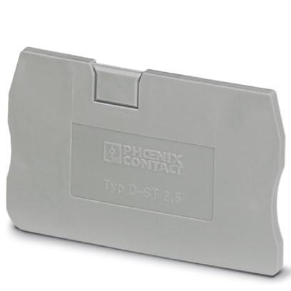1 Stk Abschlussdeckel D-ST 2,5 IP3030417-