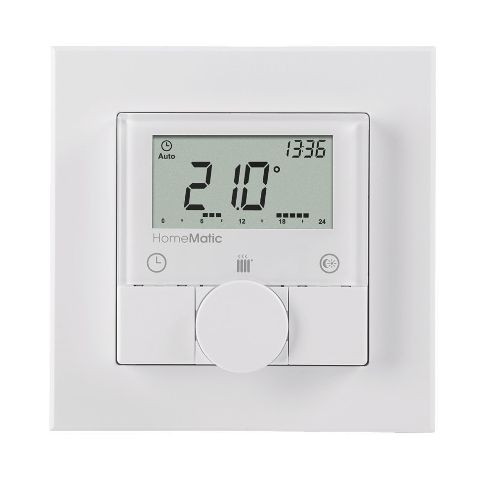 1 Stk Homematic Funk Wandthermostat Aufputz IRS00003--